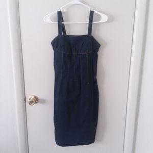 Dresses & Skirts - ❄ 💘90's Vintage Style Denim Button Strap Dress